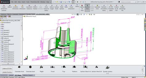 technical data package template experience solidworks mbd