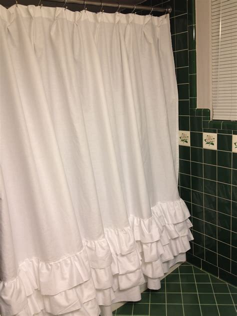 pottery barn ruffle curtains ruffle shower curtain pottery barn holidays oo