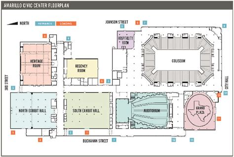 civic center floor plan event center hotels