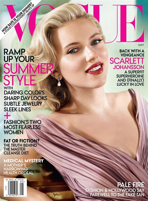 Johansson Pics From Vogue Magazine by Turtz On The Go Johansson Covers Vogue Magazine