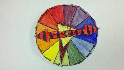 rotating color wheel is the best part of the day rotating color wheel