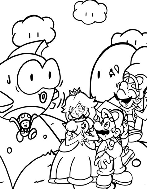 mario mushroom coloring pages super mario brothers toad coloring pages mushroom free