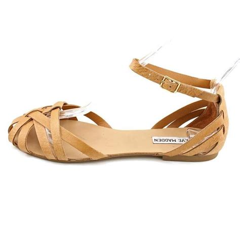 steve madden s p trivol leather sandals size 8 overstock shopping great deals on