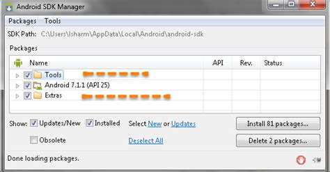 android sdk tools appium the mobile automater thinkpalm