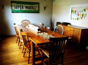 Farm Tables Dining Room Check Out My Farmhouse Table The Creative Erb