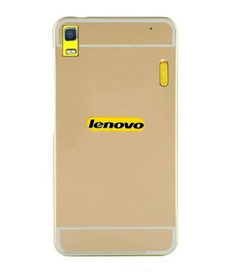 Bumper Aluminium With Backcase For Lenovo A7000 luxury acrylic metal bumper back cover for lenovo