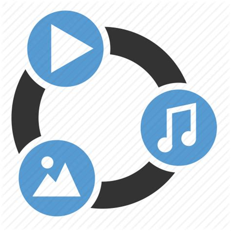 video layout icons audio content development file image multimedia