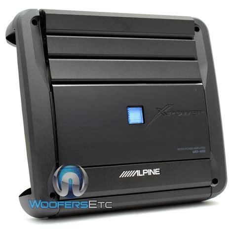 Power Lifier Monoblock Mrx M55 Alpine Monoblock Power Digital Lifier