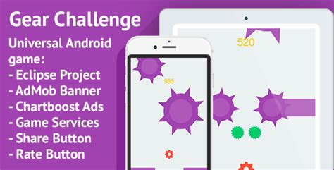 eclipse theme nulled gear challenge android admob chartboost ads nulled