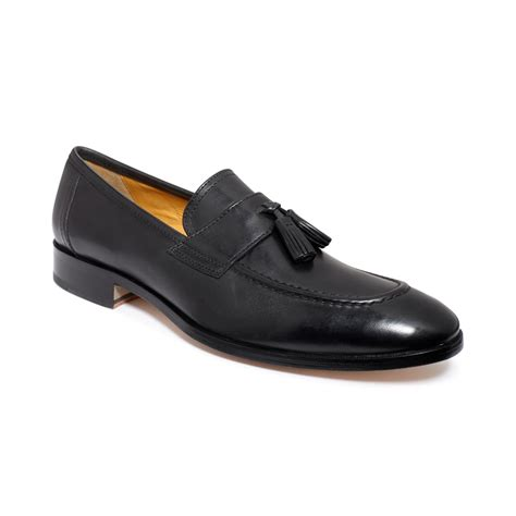 tassle loafer johnston murphy kimball tassel loafers in black for