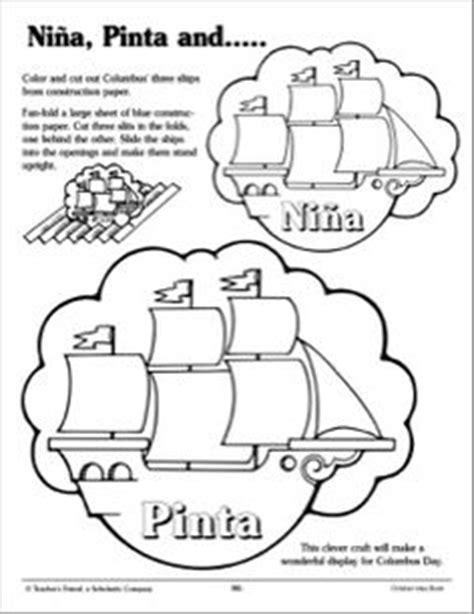 coloring pages of the nina pinta and santa maria cristoforo colombo santa maria and disegni da colorare on