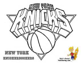 coloring pages basketball nba gallery