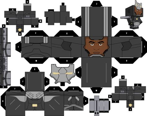 Soldier Papercraft - war machine cubeecraft by mgttrailers on deviantart