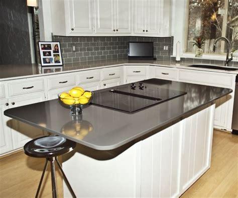 Silestone Countertops Nj by Island Countertop Silestone Cemento Install Photos