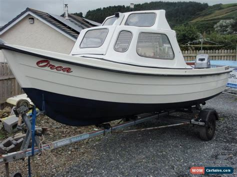 used orkney fishing boats for sale uk orkney strikeliner fishing boat c w mariner outboard