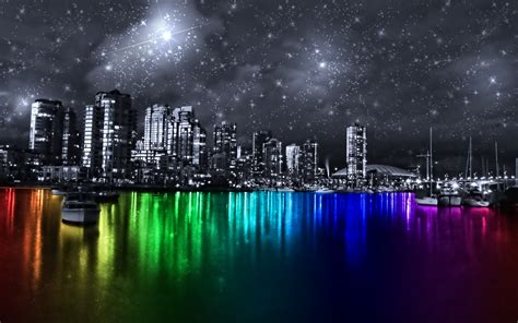 colorful city colorful city vancouver by dazuki on deviantart