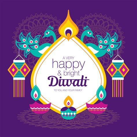 happy diwali background design vectors