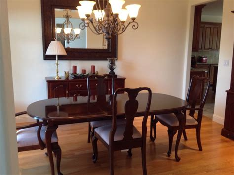 ethan allen dining room set used ethan allen dining room sets marceladick com