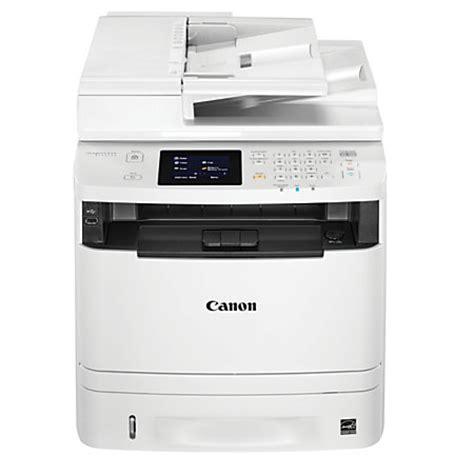 Printer Canon Scan F4 canon imageclass wireless monochrome laser all in one printer copier scanner fax mf414dw by