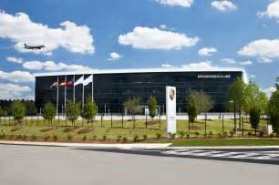 Porsche American Headquarters Porsche Opens 100 Million Atlanta Experience Center And
