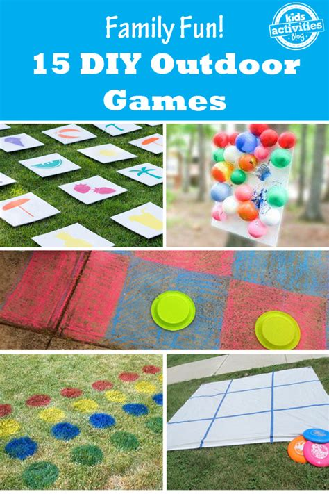 diy game image gallery outdoor games for toddlers