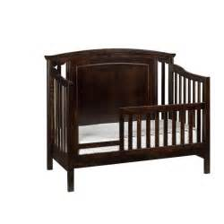 Solid Wood Convertible Crib Veneto Convertible Crib Solid Maple Wood Amish Crib And Boutique