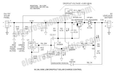 solar battery charge controller circuit diagram wind charge controller schematic wind free engine image