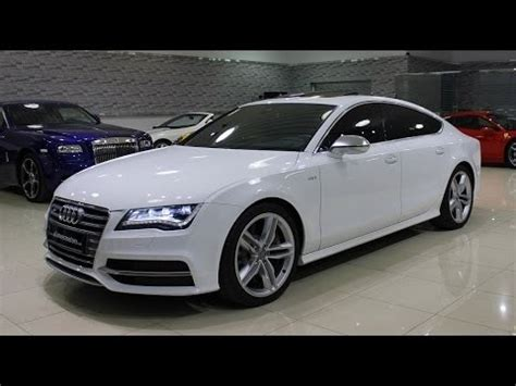 audi s7 sound 2014 audi s7 start up exhaust and in depth review