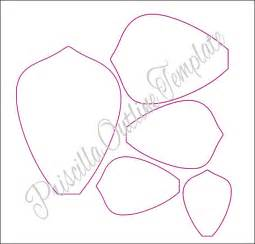 Paper Flower Template by Paper Flowers Paper Flower Templates
