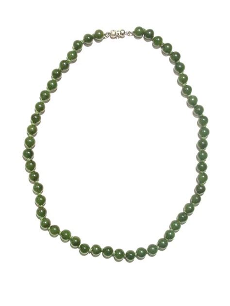 antique jade bead necklace nephrite jade bead necklace fj 3950 for sale antiques