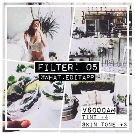 Minimalist Decor by 7 Vsco Cam Filters Settings For Better Instagram Photos