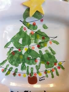 handprint christmas tree flickr photo sharing