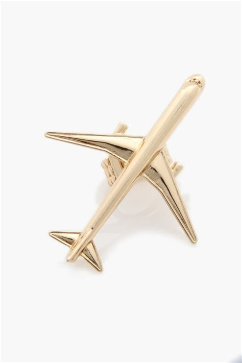 airplane ring gold