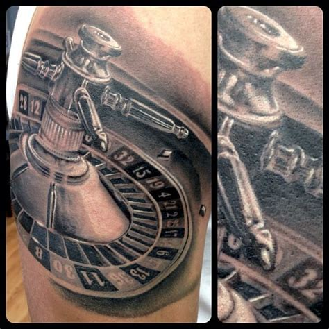 roulette table tattoo designs 15 exciting tattoos tattoodo