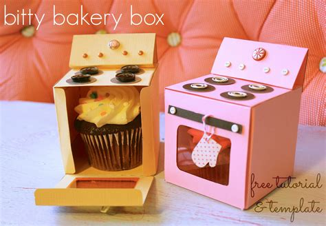 cupcake box ideas bitty bakery cupcake box free template