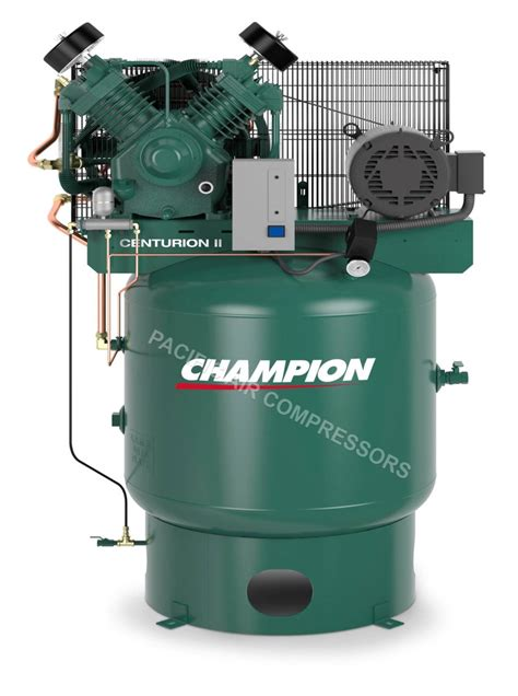 industrial 7 5 hp air compressor single phase low rpm usa made 25 8 cfm ebay