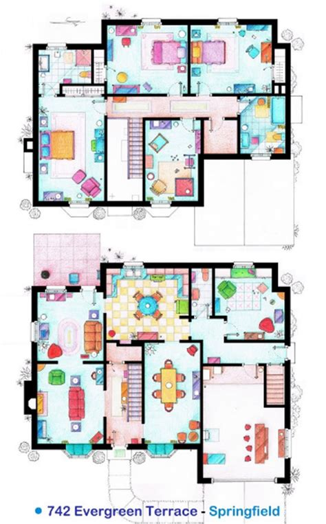 home design shows online the simpson house floor plans
