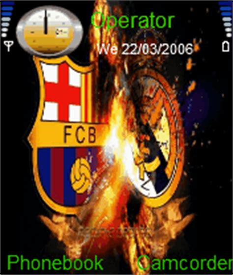 realmadrid themes for nokia c2 real madrid vs barcelona mobile themes for nokia n gageqd