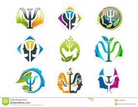 psychology concept logo design stock vector image 61829920