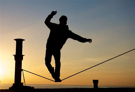 Walk The Tights Rope by Walking The Tightrope Of Faith Mike Fleischmann