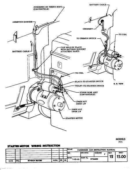 1964 chevy impala ignition switch wiring diagram 1964