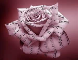 Les notes de musique les mots de flipperine