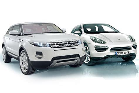 porsche cajun range rover evoque vs porsche cajun news auto express