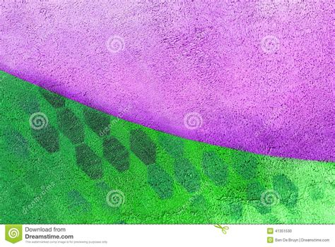 wall with purple and green paint pattern paint stock photo image 41351530