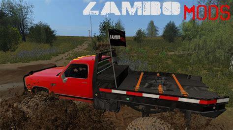 cummins pickup bed log truck for fs15 farming simulator dodge cummins and chevy monster truck v1 0 fs17 farming