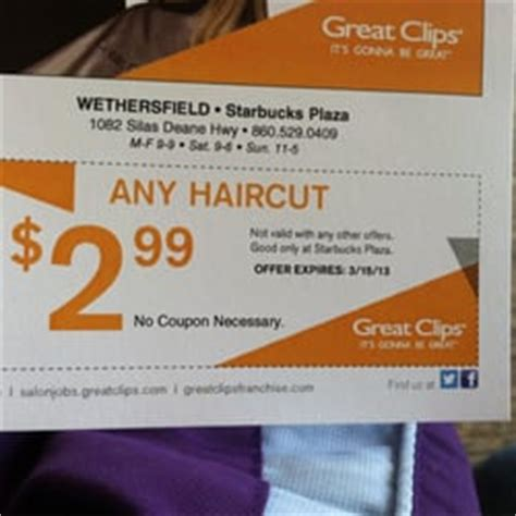 haircut coupons san diego great clips locations coupons