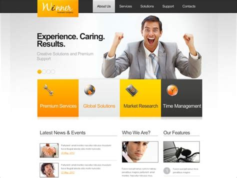 latest layout design for website metro style website templates the secret side of the