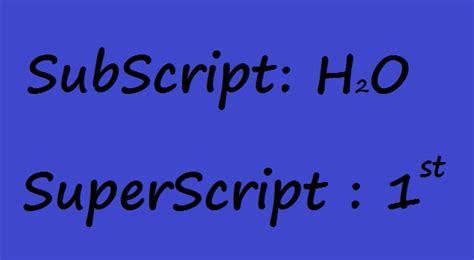format subscript adalah gak gaptek super sub script pada powerpoint dan cara