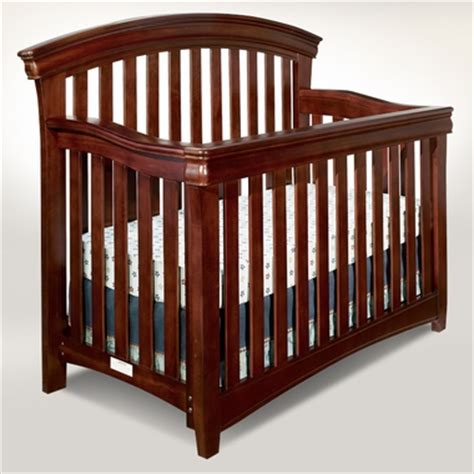 Designer Convertible Cribs Westwood Design Stratton Convertible Crib Guard Rail Included In Virginia Cherry Free Shipping