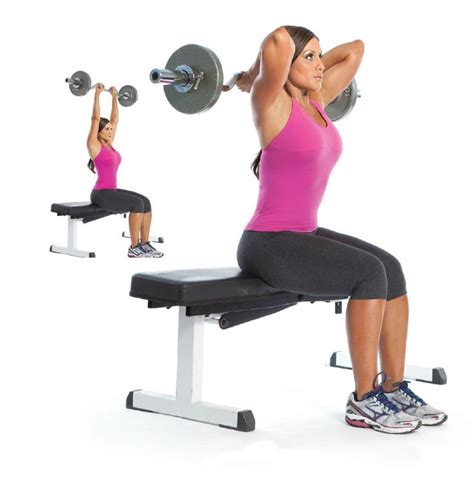 ez bar bench press 1000 images about triceps exercices on pinterest health